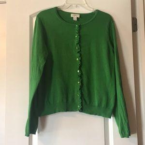 Loft Green Cardigan